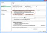 Optionen um bei Office 2013 das Speichern in die Sky Drive Cloud zu deaktivieren