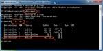 diskpart starten und USB-Festplatte identifizieren
