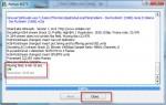 Fertig! PS3Muxer hat die MKV-Datei verlustfrei umgewandelt